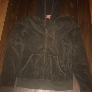 Juicy Couture Zip up hooded jacket.